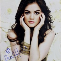 Lucy Hale Scream 4 Signed Authentic 11X14 Photo Autographed PSA/DNA #M97436