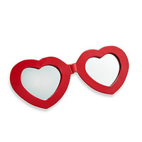 Sunglasses Wall Mirror in Red