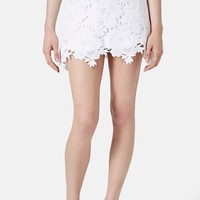 Topshop Rose Lace Skirt