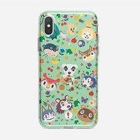Animal Crossing New Leaf Town Folk iPhone XS Max Case