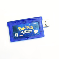 Pokemon Sapphire Flash Drive Game Cartridge 4GB 8GB 16Gb usb