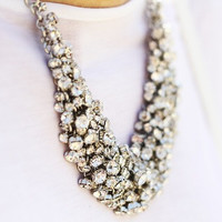 Classic Crystal Wild Collar Necklace