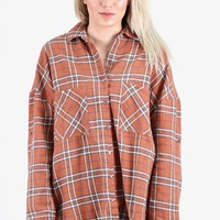 Colorful Lumberjack Flannel {Cinnamon Mix} EXTENDED SIZES