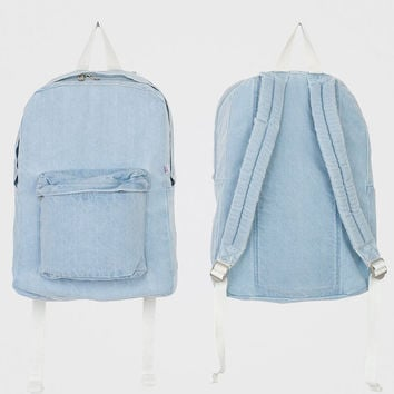 Fashion vintage Jeans Backpack women School Travel denim gym Bag ladies denim backpack cowgirl casual satchel sac a dos eastpack
