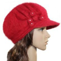 Buy Women Stylish Acrylic Blend sboy Hat - Various Design and Color at Best Buy Shop