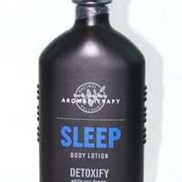Bath Body Works Aromatherapy Sleep Detoxify Body Lotion Black Chamomile 6.5oz