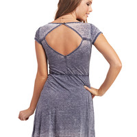 Freshman™ Open-Back Skater Dress | Wet Seal