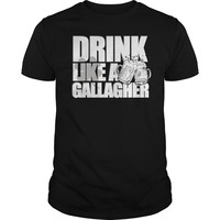 Drink like a a Gallagher awesome Party Men's t-shirt