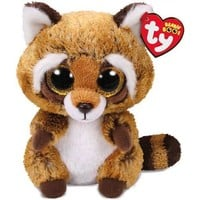 Ty® Beanie Boos Rusty Raccoon Stuffed Animal, 6""