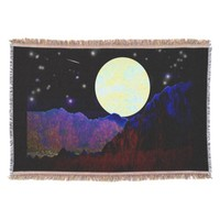 Valley of the Moon Throw