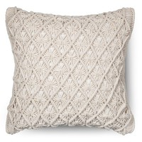 Threshold ™ Macrame Throw Pillow