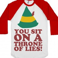 Throne of Lies-Unisex White/Red T-Shirt