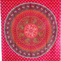 Twin Indian Mandala Tapestry, Hippie Tapestry Wall Tapestries, Mandala Tapestries, Bogo Tapestry, Twin Bed Sheet