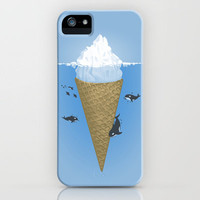 Hidden part of icebergs iPhone Case by Naolito   Society6