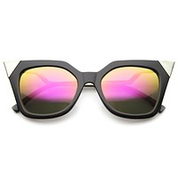 Modern Women's Hot Tip Pointed Cat Eye Sunglasses A022