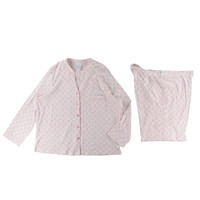 Charter Club Womens Plus Cotton 2PC Pajama Set