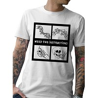 """TATDADDY """"WEED THE INSTRUCTIONS"""" TEE"""