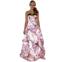 Pink Camo Gown   Realtree Pink Camo   Free Shipping