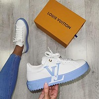 LV Louis Vuitton Women's sports shoes sneakers