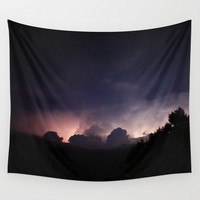 You Light Me Up Wall Tapestry by Rebekah Joan