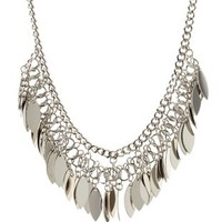 Dangling Chain Collar Necklace by Charlotte Russe