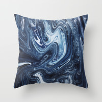 Gravity III Throw Pillow by Galaxy Eyes