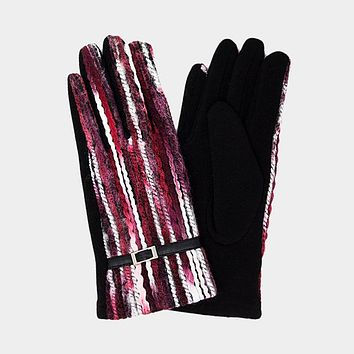 Multi Color Yarn Smart Touch Gloves (Cick For More Colors)