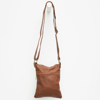 Small Crossbody Bag Cognac One Size For Women 26271740901