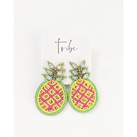 Pineapple Statement Earrings