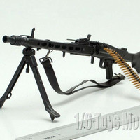 """1:6 Scale Toy Gun Weapons DRAGON WWII German MG42 Machine Gun Model Cosplay Guns Gift Collection Fit 12"""" Action Figure"""