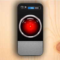 Dream colorful Hal 9000 Hello Dave iPhone 5s Case