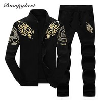 Polo Set Casual For Men / Sporting Suit / Tracksuit Two Pieces Set