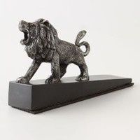Prideful Prowl Doorstop by Anthropologie Bronze One Size H