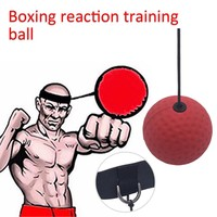 Boxing Speed Training Ball Sensitive MMA Boxer Speed Reaction Base Ball Rebound Ball Fright Equipment Accessories Fitness Ball