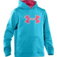 Under Armour Armour Fleece Storm Big Logo Hoodie, Break / Ultra, X-Large