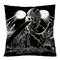 JASON VOORHEES FRIDAY 13TH 2 Cushion Case Cover