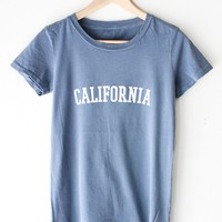 California Destroyed Tee