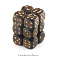 Scarab Blue Blood 12d6 Dice Set | Awesome Dice