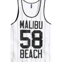 H&M - Tank Top with Printed Design