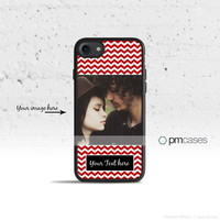 Personalized Chevron Case Cover for Apple iPhone 7 6s 6 SE 5s 5 5c 4s 4 Plus & iPod Touch
