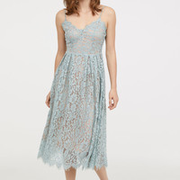 Lace Dress - Light turquoise - Ladies | H&M US