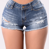 Shorty Shorts - Medium