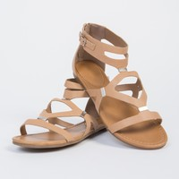 Caged Cut Out Sandals