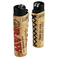 Clipper Lighter w/ Cork RAW Sleeve (3 Pack)