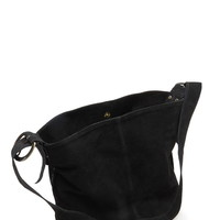 Unstructured Genuine Suede Tote | Forever 21 - 1000186596