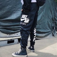 NIKE Fashionable Men Print Sport Pants Trousers Sweatpants