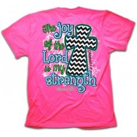 Cherished Girl The Joy Of The Lord Is My Strength Christian T-Shirt