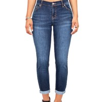 Sleek Capri Jeans