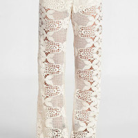 Todos Santos Crocheted Bell Bottoms by Jen's Pirate Booty - $210.00 : ThreadSence, Women's Indie & Bohemian Clothing, Dresses, & Accessories
