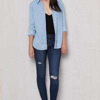 PacSun Yellowstone Ripped Low Rise Skinny Jeans at PacSun.com